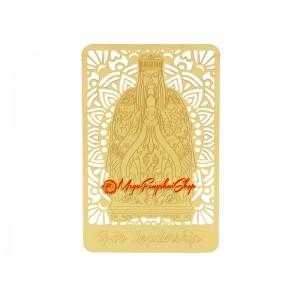 Jade Emperor Gui Ren Gold Talisman Feng Shui Card