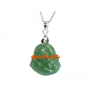Jade Laughing Buddha Pendant (s)