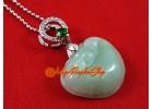 Jade Ling Zhi Pendant (High Grade)