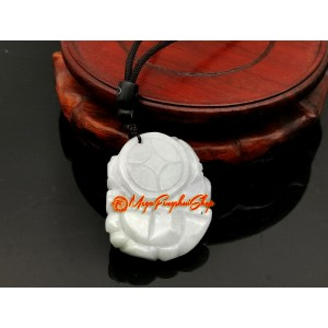 Jade Piyao with Child and Ling Zhi Pendant (High Grade)