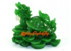 Jadeite Dragon Tortoise with Child