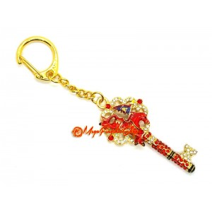 Key for Success and Victory Keychain