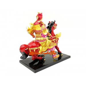 Kuan Kung on Horseback