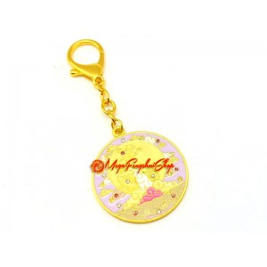 Love Amulet With Moon Rabbit Feng Shui Keychain