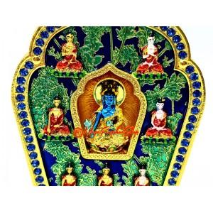 Medicine Buddha and The Seven Sugata Gau