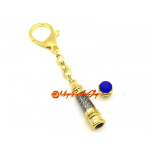 Medicine Buddha Mantra Wand Amulet Keychain