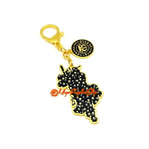 Night Spot Protection Talisman Keychain