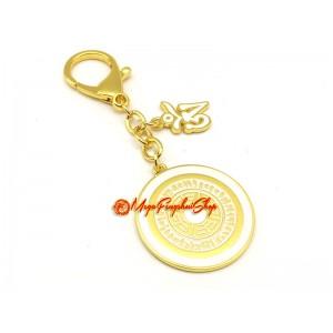 Om Dakini Spirit Enhancing Amulet Feng Shui Keychain