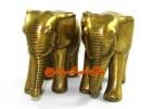 Pair of Brass Elephants