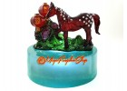 Peach Blossom Horse to Attract Love Luck