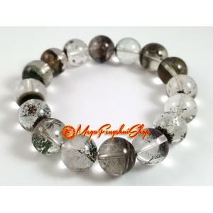 Premium Phantom Quartz Elastic Bracelet