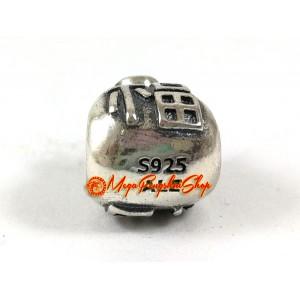 Prosperity Money Bag with Fuk Charm Bead (925 Silver)