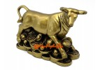 Prosperity Ox on Bed of Treasure