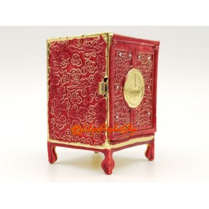 Red Feng Shui Wealth Cabinet