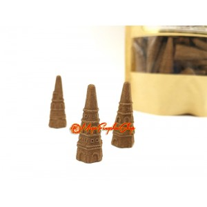 Sandalwood Pagoda Fragrant Incense (62 pcs)