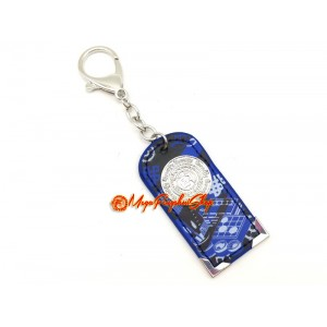 Scholastic Amulet Feng Shui Keychain - Blue