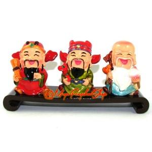 Set of Adorable Fuk Luk Sau Statues
