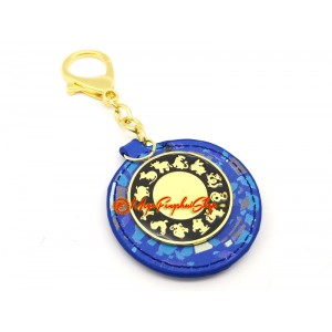 Sum-of-Ten Enhancer Amulet Feng Shui Keychain