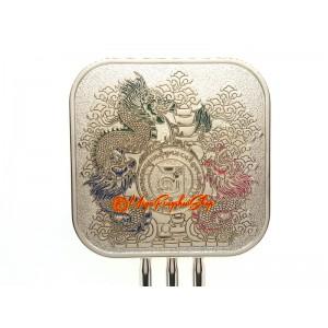 Three Celestial Dragons Feng Shui Mirror