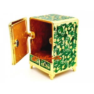 Wealth Cabinet In Green