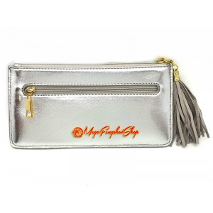 Wealth Wallet with Wealth-Spouting Mongoose (Silver)