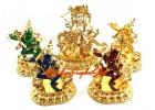 White Dzambhala and the 4 Dakinis