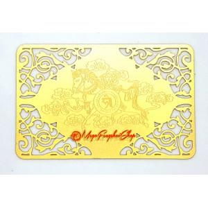 Windhorse Gold Talisman Card