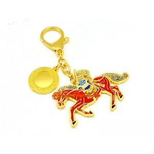 Windhorse Success Amulet Feng Shui Keychain