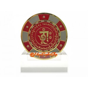 Winning-Chip Talisman with Wealth Mantra