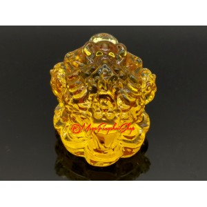 Yellow Prosperity Feng Shui Money Toad