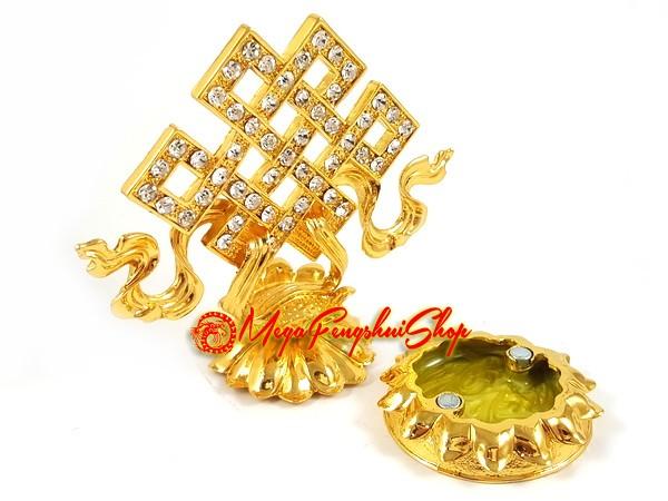 Bejeweled Wishfulfilling Mystic Knot