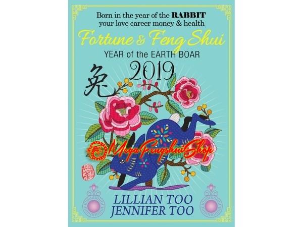 Monthly Horoscope & Feng Shui Forecast 2019 for Rabbit