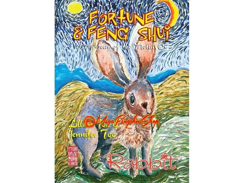Monthly Horoscope & Feng Shui Forecast 2021 for Rabbit
