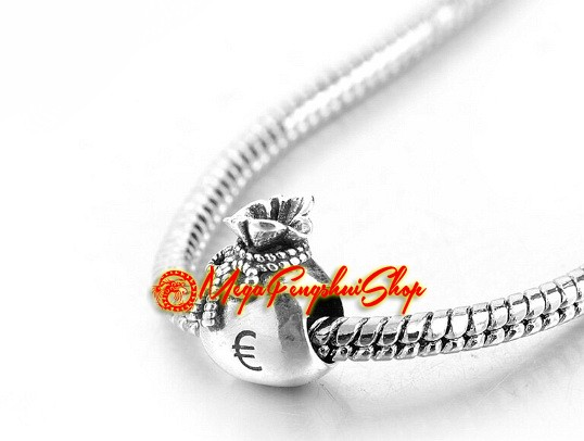 Money Symbol Necklace Dollar Sign Charm Pendant Jewelry Gift Attract Wealth